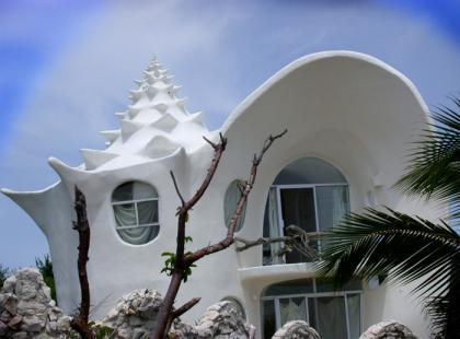 Najdziwniejsze domy - mieszkanie w muszelce