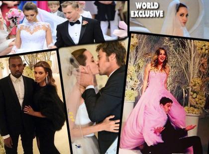Najgłośniejsze śluby 2014!
