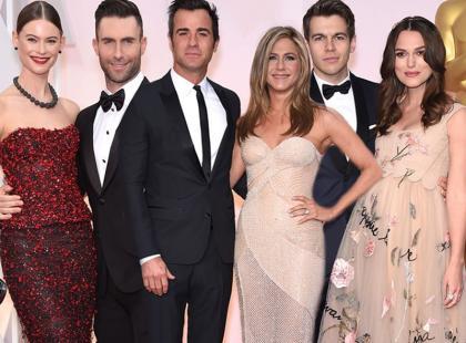 Najgorętsze pary Hollywood na gali wręczenia Oscarów
