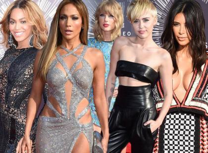 Najlepiej ubrane gwiazdy na MTV Video Music Awards 2014