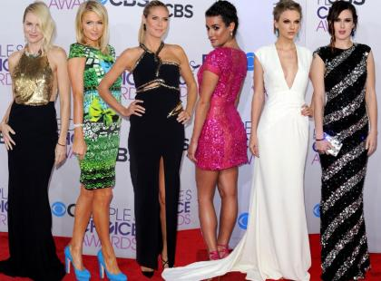 Najlepiej ubrane gwiazdy na People's Choice Awards 2013