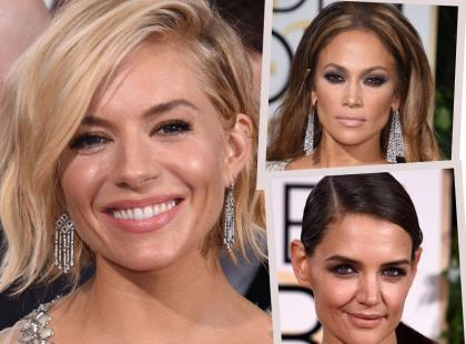 Najlepsze makijaże i fryzury gwiazd na rozdaniu Złotych Globów 2015!