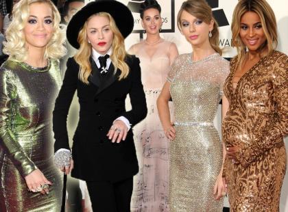 Najlepsze stylizacje gwiazd podczas rozdania nagród Grammy 2014