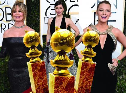 Najlepsze stylizacje gwiazd - Złote Globy 2017