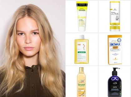 Najlepsze szampony dla blondynek!