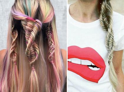 Najmodniejsza fryzura lata jest inspirowane... DNA. Wiemy jak ją zrobić!