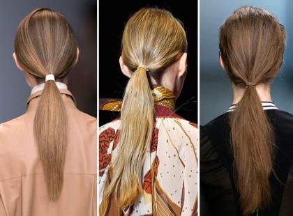 Najmodniejsza fryzura tego lata? Niski kucyk!