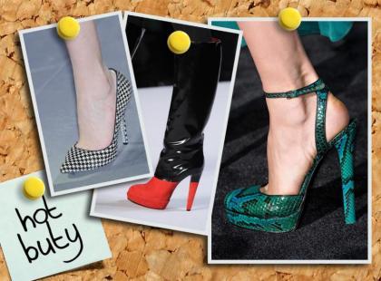 Najmodniejsze buty sezonu jesień-zima 2012