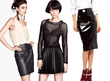 Najmodniejsze czarne spódnice - zobacz!