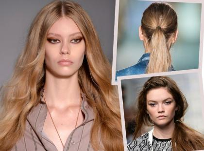 Najmodniejsze fryzury na wiosnę i lato 2015