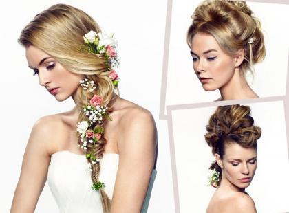 Najmodniejsze fryzury ślubne 2015