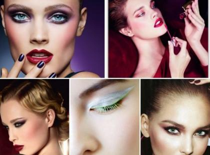 Najmodniejsze makijaże na jesień 2012