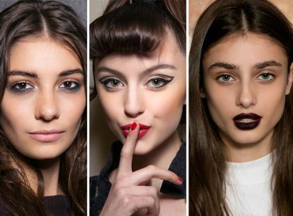 Najmodniejsze makijaże na jesień 2015!