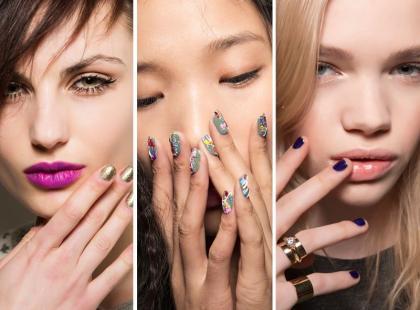Najmodniejsze paznokcie na jesień 2015