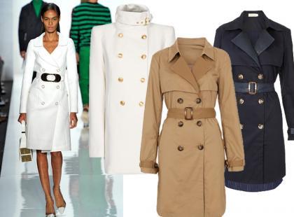 Najmodniejsze płaszcze na wiosnę 2013