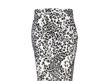 Najmodniejsze spodnie we wzory na wiosnę i lato 2012
