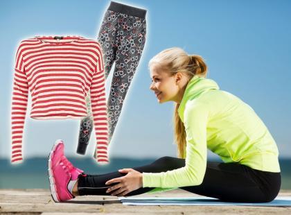 Najmodniejsze ubrania treningowe nadchodzącego sezonu!