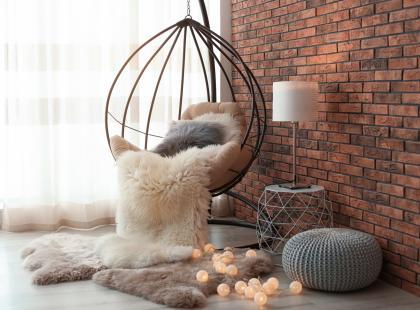 Najnowszy trend w twoim domu. Wiszący fotel kupisz teraz za grosze!