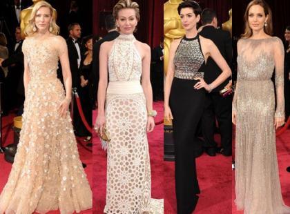 Najpiękniejsze aktorki na gali rozdania Oscarów