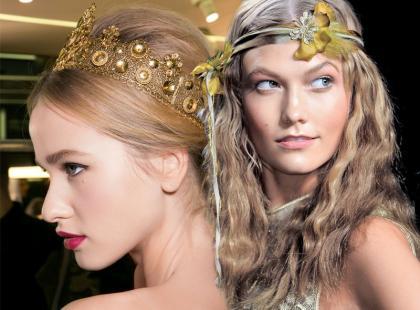 Najpiękniejsze fryzury ślubne 2014