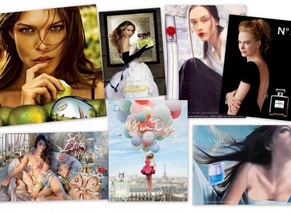 Najpiękniejsze reklamy perfum dla kobiet