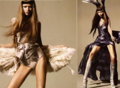 Najważniejsze trendy w modzie wiosna/lato 2010 - wojowniczka przyszłości