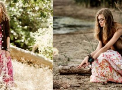 Najważniejsze trendy wiosna/lato 2010 - kwieciste ubrania