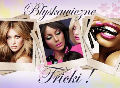 Najważniejsze triki makijażowe!