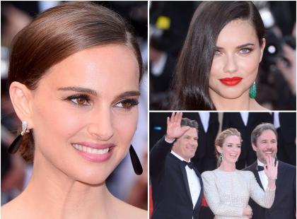 """Największe piękności Hollywood na premierze filmu """"Sicario"""" w Cannes"""