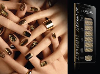 Naklejki Le nail art Color Riche - L'Oréal