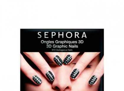 Naklejki na paznokcie 3D Graphic Nails - Sephora