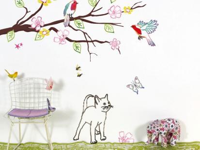 Naklejki na ścianę - idealne do dziecięcego pokoju!
