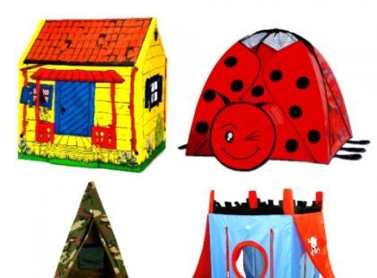 Namioty  dla dzieci – galeria