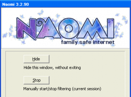 Naomi 3.2 - filtruje niepożądane treści