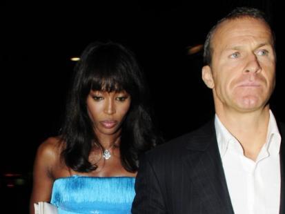 Naomi Campbell i Vladislav Doronin w Cannes