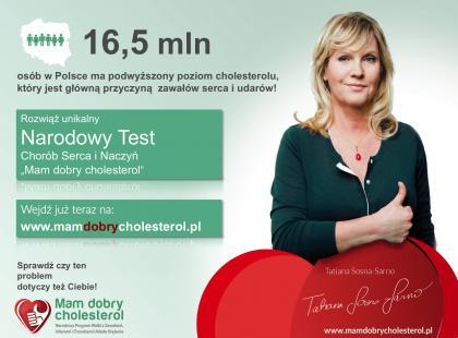 "Narodowy test ""Mam Dobry Cholesterol"""