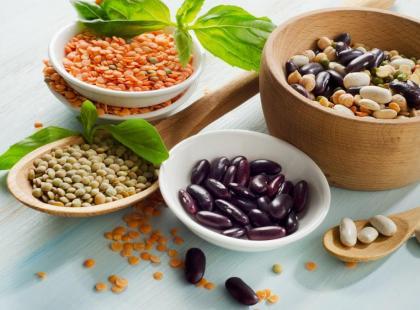 Nasiona roślin strączkowych w diecie strukturalnej