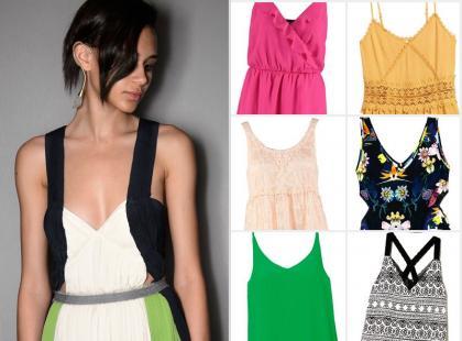 Nasz hit! 17 szałowych sukienek na delikatnych ramiączkach