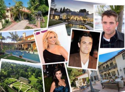 Nasz ranking 10 najpiękniejszych domów gwiazd - głosuj i ty!