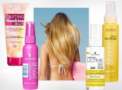 Nasze ulubione kosmetyki rozjaśniające do włosów