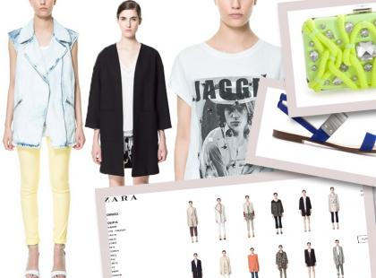 Naszy wybór: modowe hity na wiosnę i lato z Zara Online