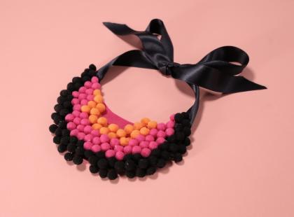 Naszyjnik z filcu DIY – doskonały pomysł na prezent na Dzień Kobiet