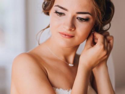 Naszyjniki i wisiorki ślubne