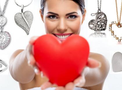 Naszyjniki z sercem na walentynki - bez kiczu