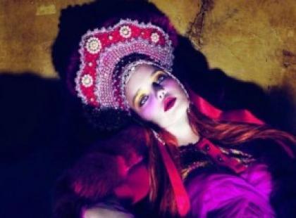 Natalia Vodianova niczym rosyjska księżniczka