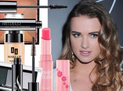 Naturalny makijaż w stylu Maffashion