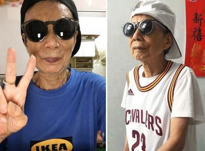 Nawet w podeszłym wieku można bawić się stylem! Ta 88-letnia pani nieźle namieszała w świecie mody