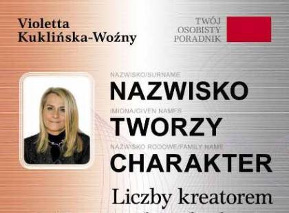 Nazwisko tworzy charakter, Violetta Kuklińska-Woźny - recenzja książki