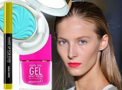 Neonowe kosmetyki do makijażu na wiosnę - chcemy je mieć!
