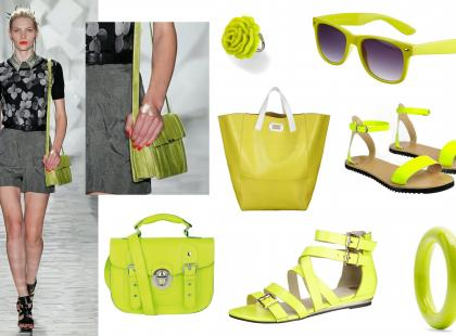 Neony - trendy na lato 2012